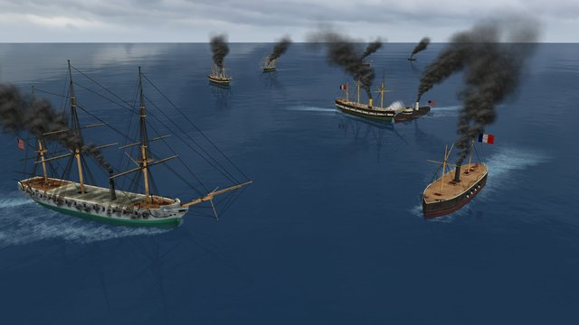 Clad in Iron: Gulf of Mexico 1864 screenshot