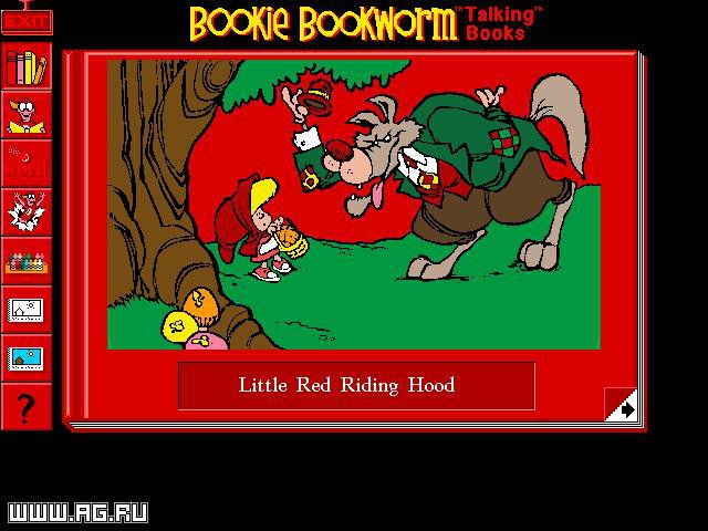 Bookie Bookworm Talking Books screenshot