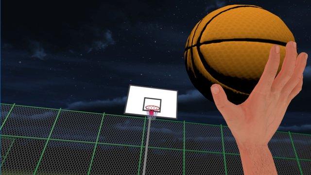 Basketball Court VR screenshot