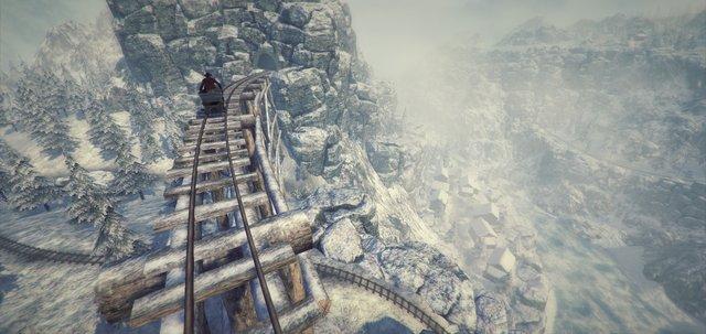 Rail Adventures - VR Tech Demo screenshot