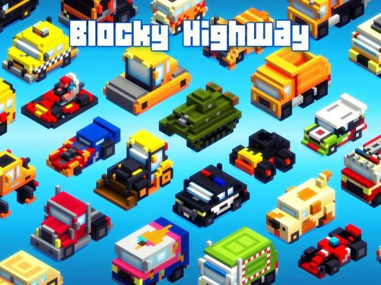 Blocky Highway screenshot