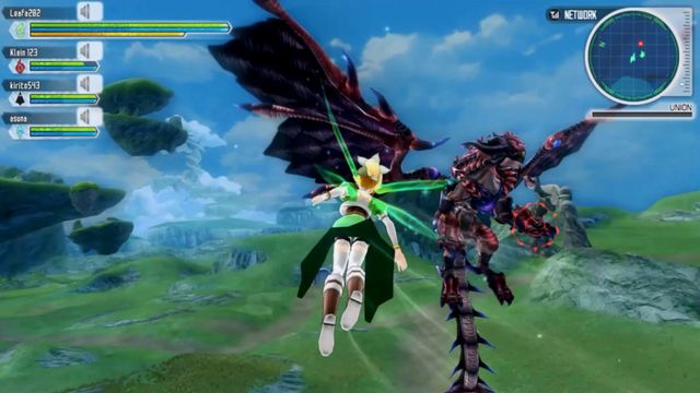 Sword Art Online: Lost Song screenshot