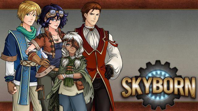 Skyborn screenshot