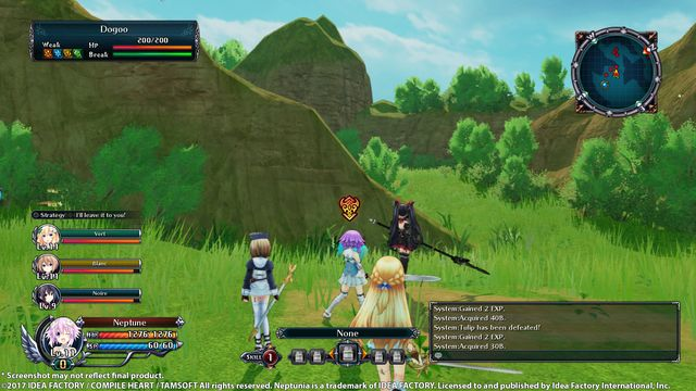 Cyberdimension Neptunia: 4 Goddesses Online | 四女神オンライン CYBER DIMENSION NEPTUNE | 四女神ONLINE 幻次元遊戲戰機少女 screenshot