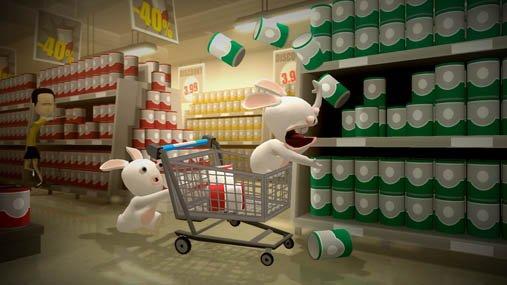 Бешеные Кролики Go Home screenshot