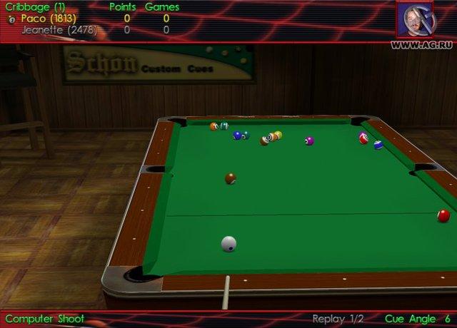 Virtual Pool 3 screenshot