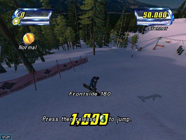Amped: Freestyle Snowboarding screenshot