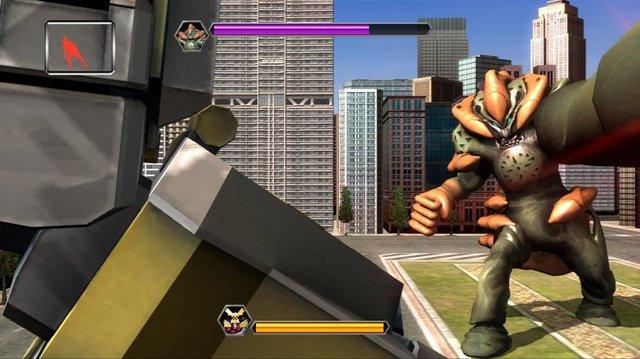Power Rangers Super Samurai screenshot