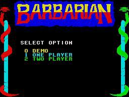 Barbarian: The Ultimate Warrior screenshot