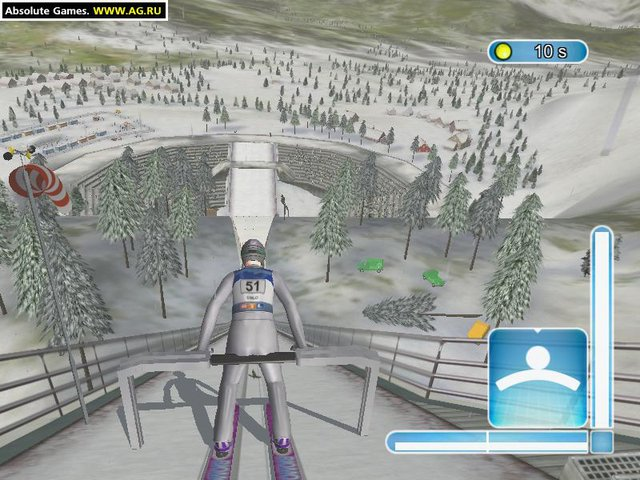 Ski-jump Challenge 2003 screenshot