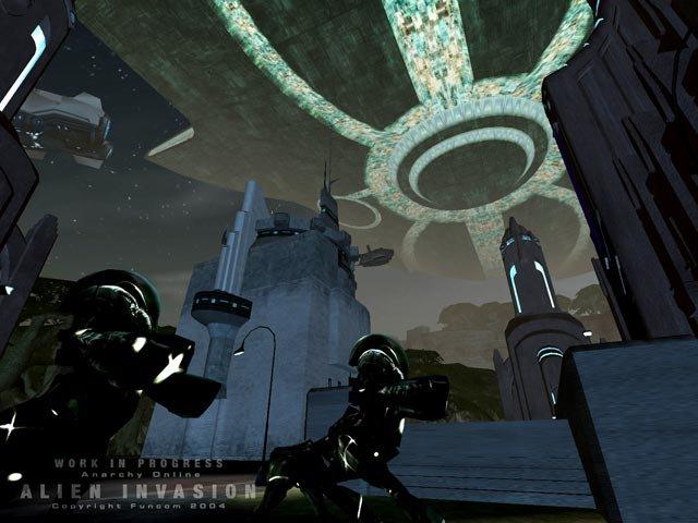 Anarchy Online: Alien Invasion screenshot