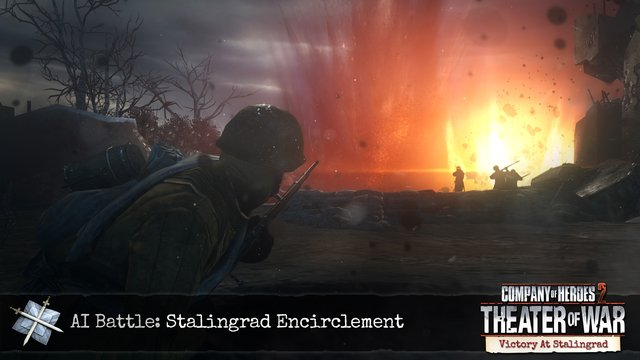 Company of Heroes 2: Victory at Stalingrad Mission Pack screenshot