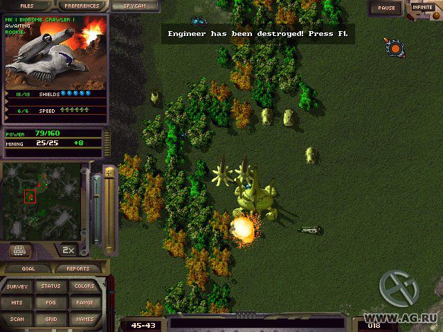 M.A.X. 2: Mechanized Assault & Exploration screenshot