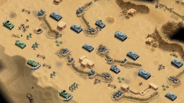 1943 Deadly Desert screenshot