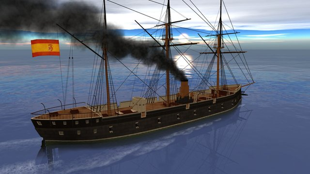 Ironclads: Chincha Islands War 1866 screenshot