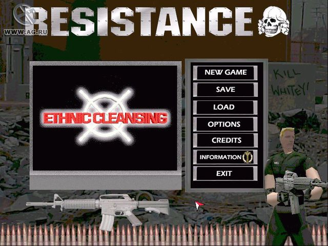 Ethnic Cleansing screenshot