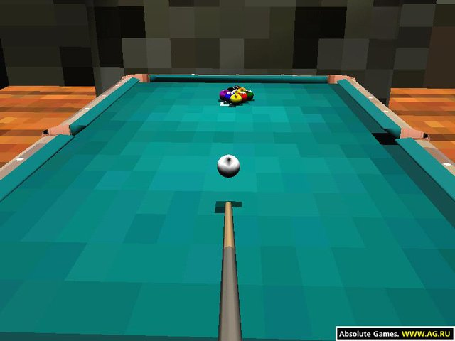 Brunswick Pro Pool 3D 2 screenshot