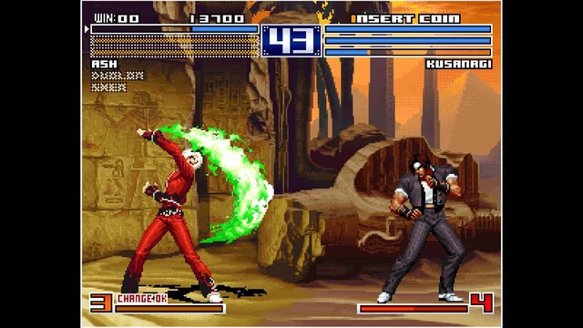 ACA NEOGEO THE KING OF FIGHTERS 2003 screenshot