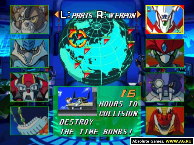 Mega Man X5 screenshot