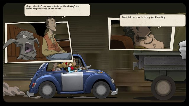 The Interactive Adventures of Dog Mendonça & Pizzaboy screenshot