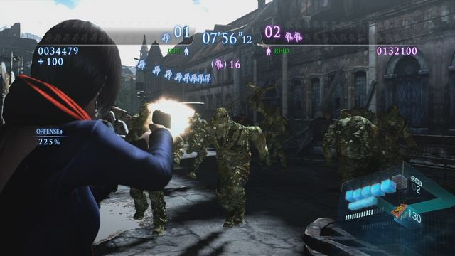 Resident Evil 6: Onslaught screenshot