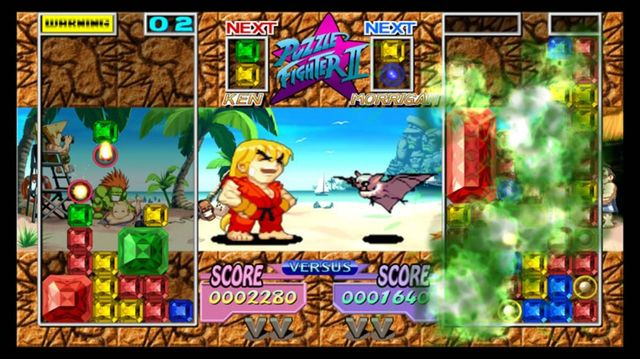 Puzzle Fighter HD screenshot