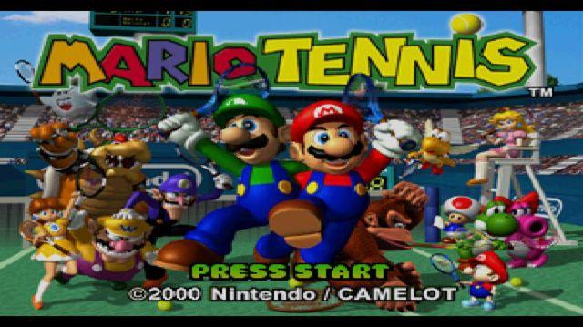 Mario Tennis (2000) screenshot