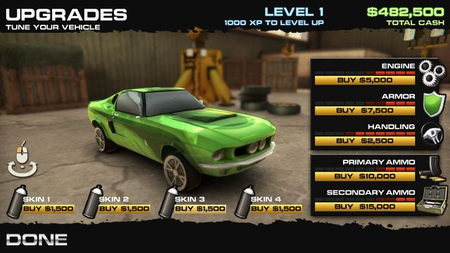 Burnin' Rubber 5 HD screenshot