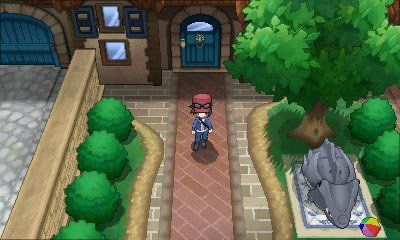 Pokémon Y screenshot