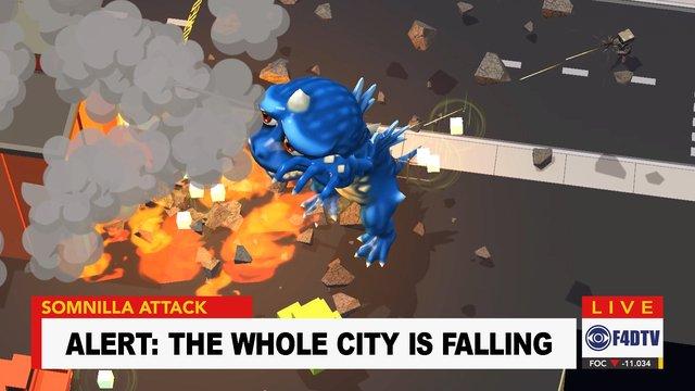 VR Monster Awakens screenshot
