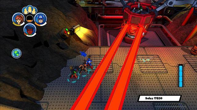 Marvel Super Hero Squad: Comic Combat screenshot