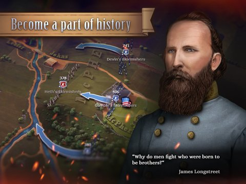 Ultimate General: Gettysburg screenshot