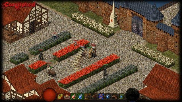 Corrupted screenshot