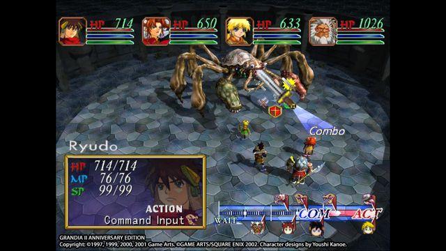 Grandia II Anniversary Edition screenshot