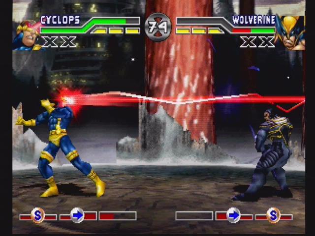 X-Men: Mutant Academy screenshot