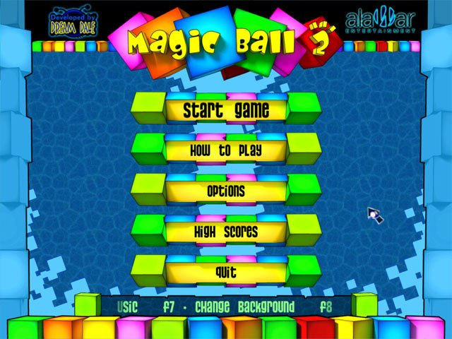 Magic Ball 2 screenshot