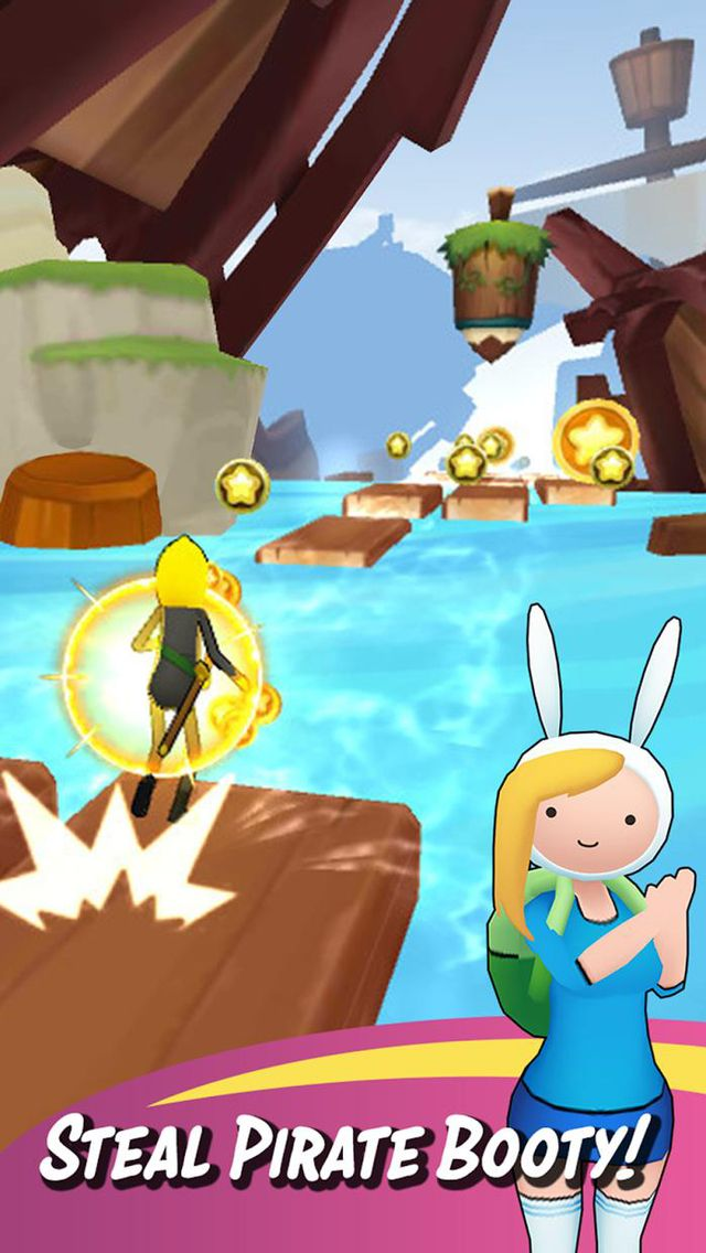 Adventure Time Run screenshot