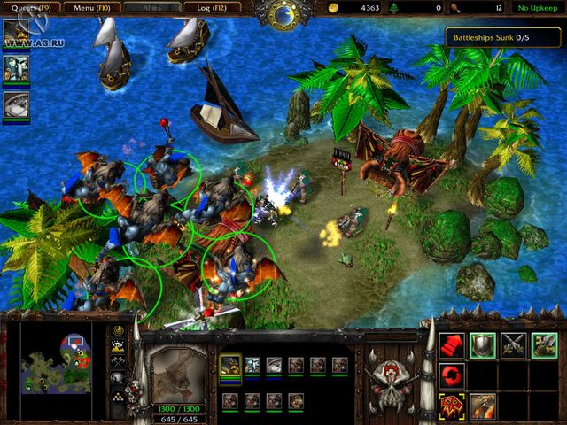 Warcraft 3: The Frozen Throne screenshot