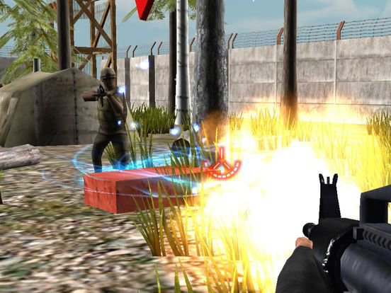 Commando Battle Sniper Shooting - Frontline Attack screenshot