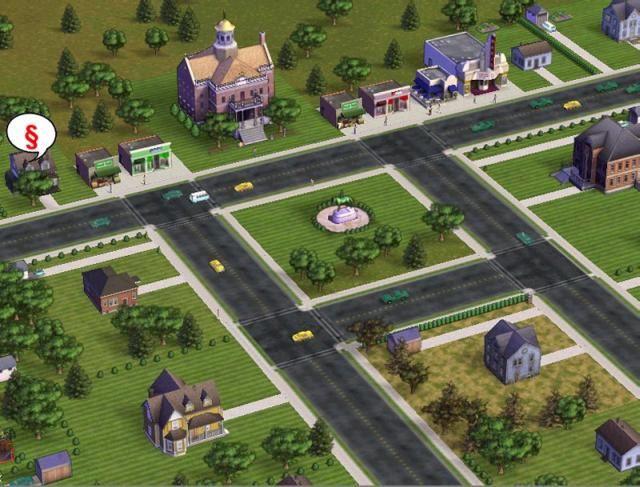 Simsville screenshot