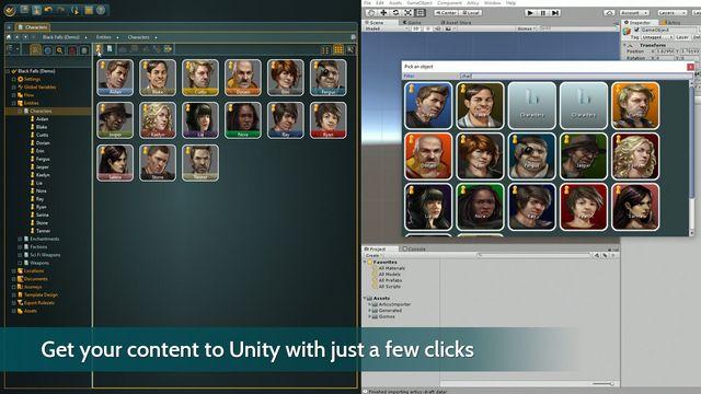 articy:draft 3 screenshot