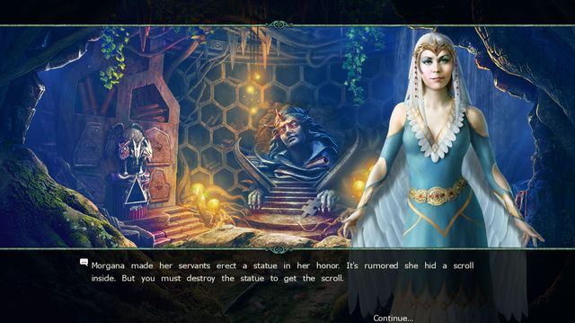Witches' Legacy: The Dark Throne Collector's Edition screenshot