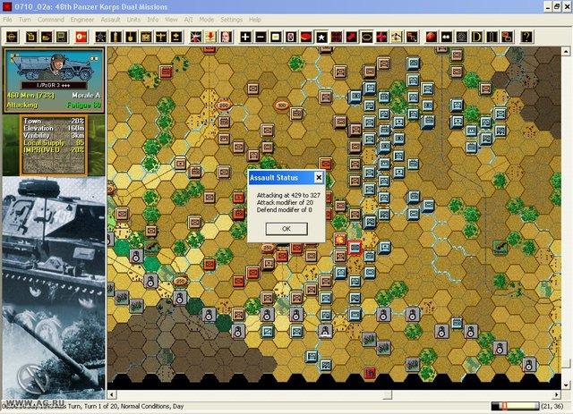 Panzer Campaigns: Kursk '43 screenshot
