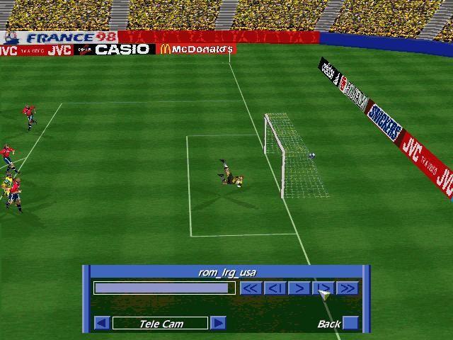World Cup 98 screenshot