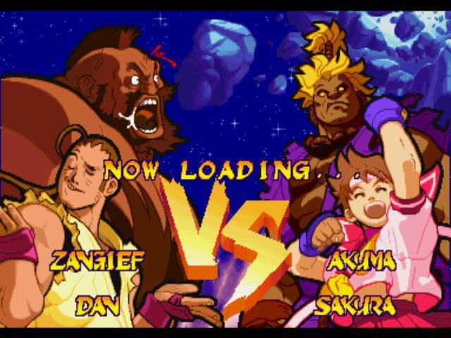 Marvel Super Heroes vs. Street Fighter screenshot
