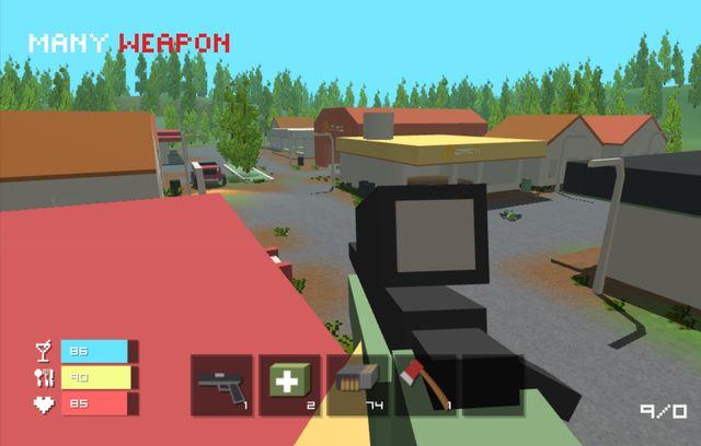 Pixel Survival - Craft Game screenshot