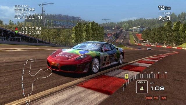 Ferrari Challenge: Trofeo Pirelli screenshot