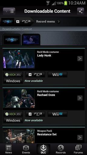 RESIDENT EVIL.NET screenshot