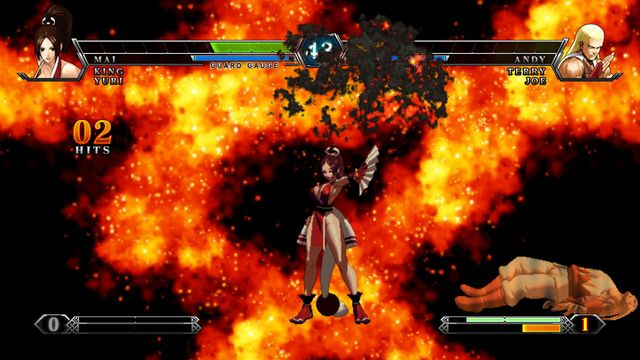 THE KING OF FIGHTERS XIII STEAM EDITION screenshot