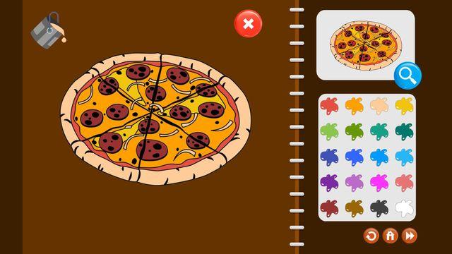 My Coloring Book: Food and Beverage screenshot